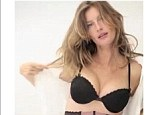 Wow! Gisele showed off her impressive cleavage on her own twitter page