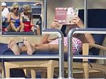 Camilla on holiday in Majorca