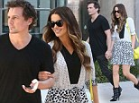 She's still dotty about him! Kate Beckinsale looks more in love than ever as she shops with Len Wiseman in spotted dress