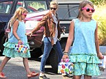 Happy Birthday, mommy!: Adorable Matilda Ledger carries packages for her mother Michelle Williams, who turns 33 on Monday, during a day out in Brooklyn