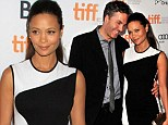 Thandie Newton announces pregnancy as she walks the red carpet for her new movie at Toronto