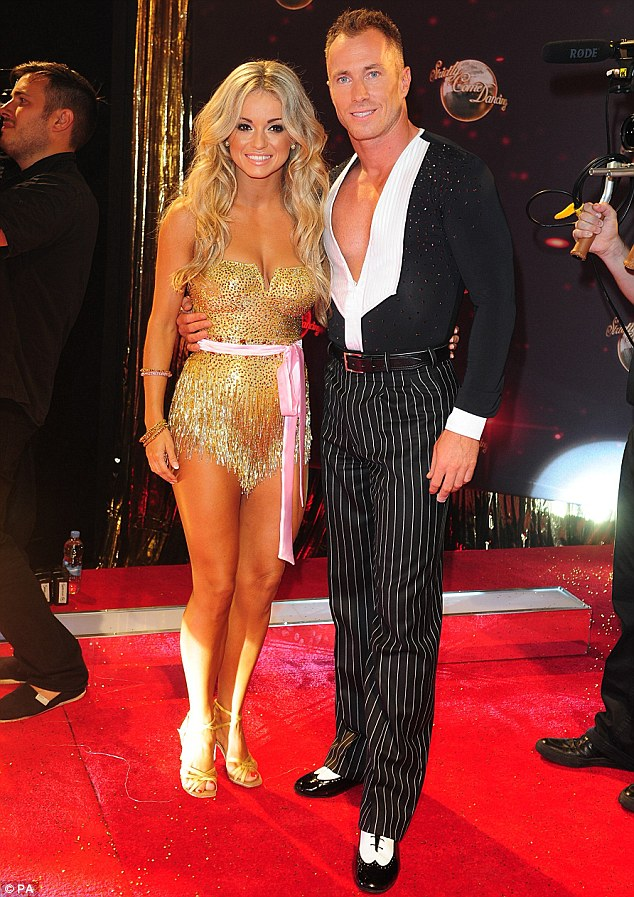 King and queen of Strictly! Ola is married to fellow professional dancer James Jordan