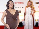 Sugar and spice! Claire Danes is angelic in lace as pregnant Morena Baccarin takes the plunge at Homeland season three premiere