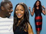 Winnie ways: Naomie Harris stands out in sleek outfit at Toronto press conference for Mandela: Long Walk to Freedom