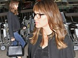 Let the exodus begin! Jennifer Garner joins the wave of celebrities heading home to Hollywood after attending the Toronto International Film Festival