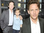 'I will be nearing 70 when my youngest child goes to college': St. Elmo's Fire star Andrew McCarthy, 50, nervous about third child