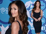 All bets are off! Minka Kelly's little black dress gamble pays off at Fox's annual casino night