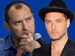 Shedding pounds... and hair: Jude Law sheds pounds he gained for recent role, along with more from his hairline