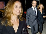 Natalie Portman's husband Benjamin Millepied is honoured in New York... but it's still her in the spotlight as she wows in a chic trouser suit