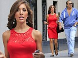 Finally, someone who will listen: Farrah Abraham walks and talks with mystery man on Monday in NYC