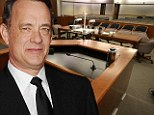 Oscar winner Tom Hanks is performing his civic duty by appearing on a jury panel
