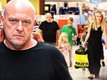 Breaking Bad star Dean Norris indulges in a family day of retail therapy... as he leaves fans stunned with cliffhanger ending