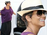 No stopping her: Heavily pregnant Halle Berry is glowing as she takes daughter Nahla for Beverly Hills playdate with friend
