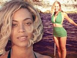A natural beauty! Bikini-clad Beyonce, 32, goes completely make-up free as she shares more holiday snaps from her European adventure