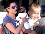 She's a natural! Make-up free Jenna Dewan Tatum, 32, showed off her amazing post-pregnancy pins during a day of bonding with three-month-old baby Everly