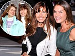 Did someone hit pause? Brooke Shields, 48, and Carol Alt, 52, are ageless in the front row of their old stomping ground... New York Fashion Week