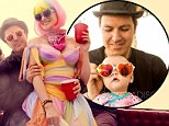 Newlyweds Holly Madison and Pasquale Rotella took their baby to Burning Man before marrying at Disneyland