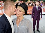 Robin Wright, 47, canoodles with toyboy Ben Foster, 32, as they join Daniel Radcliffe at Kill Your Darlings premiere in Toronto