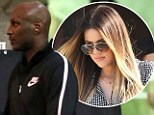 Pictured: Lamar Odom roams the streets of LA after midnight as reports surface that his wife Khloe Kardashian has been spying on him for one year