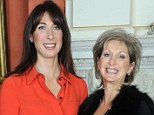 Understanding: At last year's awards, Shelley Gilbert met Samantha Cameron, who knows all about the support bereaved families need after losing son, Ivan