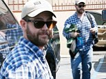 Jack Osbourne heads home to wife Lisa after a long day's rehearsal at the Dancing With The Stars dance studio in Hollywood