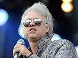 Boomtown Rat: The 61-year-old performing at Bestival on the Isle of Wight last monthBoomtown Rat: The 61-year-old performing at Bestival on the Isle of Wight last month
