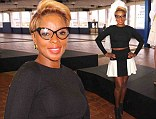 Still looks young! Mary J. Blige, 42, showed her toned figure in a crop top and mini skirt as she attended the Catherine Malandrino presentation for Mercedes-Benz Fashion Week in New York on Tuesday