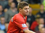 Ever present: Steven Gerrard played 46 times for Liverpool last season