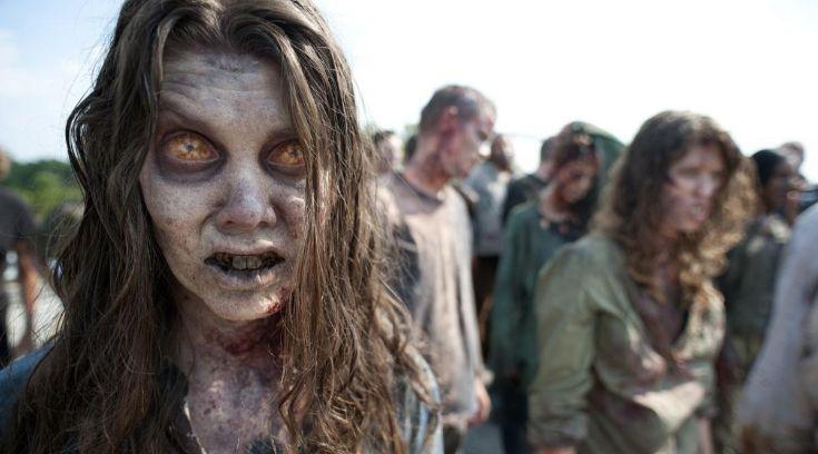 Зомби в сериале The Walking Dead