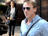 Daniel Craig and Rachel Weisz run errands in New York as they prepare to play cheating couple in Broadway play