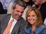 Keeping it low-key: Katie Couric has revealed that she is planning a 'tasteful' wedding to her investment banker fiance, John Molner