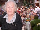 She's off to see the wizard... again! Original Munchkin Ruth Duccini is guest of honour at Wizard Of Oz 3D premiere