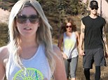 Scary Movie 5 actress Ashley Tisdale and her fiance Christopher French are spotted hiking at Runyon Canyon in Los Angeles