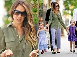 'OohLaLa!' indeed: Sarah Jessica Parker and her twins show off their fashion panache as they parade around in a rainbow of colors