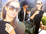 Angelina Jolie has been spotted out and about with her bag which has only increased demand