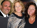 The Sopranos cast turn out in force to see the late James Gandolfini in his final movie role in Enough Said