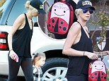 Kimberly Stewart reminds daughter Delilah's teacher of allergies by magic marker note on backpack