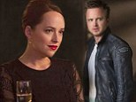 Hollywood hot shots: Aaron Paul and Dakota Johnson star in Need for Speed