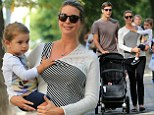 Ivanka Trump ditched her high heels to spend a Sunday afternoon relaxing at Central Park with her family on Sunday