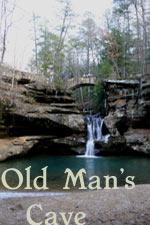 Old Mans Cave - Upper Falls