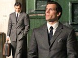 Back in action: Henry Cavill suits up for Guy Ritchie's big screen remake of The Man From U.N.C.L.E