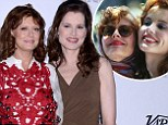 'Thelma AND Louise are here!' Geena Davis and Susan Sarandon steal the show as they hit the red carpet together at charity gala