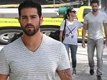 Dressing for the occasion: Jesse Metcalfe and Cara Santana visit a vintage store in Hollywood wearing old clothes