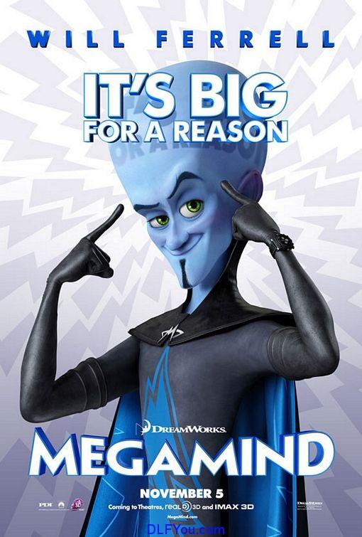 megamind Megamind 2010 BluRay 720p Movie Download
