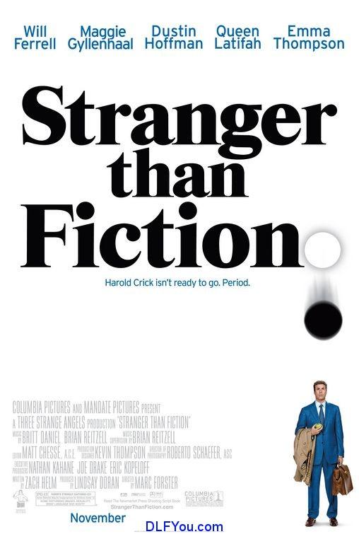 stranger than fiction Stranger Than Fiction 2006 BluRay 720p Movie Download