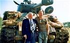 Peter Comfort with Brad Pitt