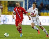 Сборная России разгромила команду Люксембурга