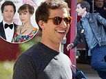 No time for a honeymoon? Andy Samberg is back on set of Brooklyn Nine-Nine just six days after marrying Joanna Newsom