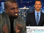 'Your life is going to be much better if you apologise!' Jimmy Kimmel reveals details of threatening phone call from Kanye West
