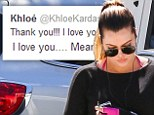 ¿I can¿t explain and won¿t even try¿: Khloe Kardashian hints at marriage troubles in series of cryptic tweets¿ as she thanks fans for their support